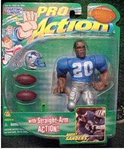 Pro Action Starting Lineup Barry Sanders $8.00