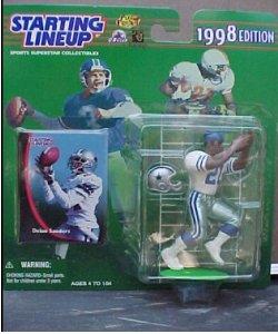 1998 Starting Lineup Deion Sanders  $10.00