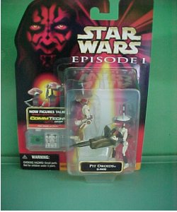 Star Wars Pit Droid 2pack $15.00