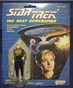 1988 Star Trek NG Tasha Yar $25.00
